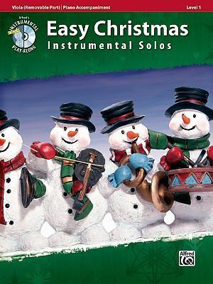 Easy Christmas Instrumental Solos, Viola (Removable Part)/Piano Accompaniment, Level 1