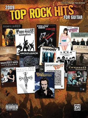 Top Rock Hits for Guitar 2009