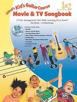 Kid's Guitar Course Movie & TV Songbook 1 & 2