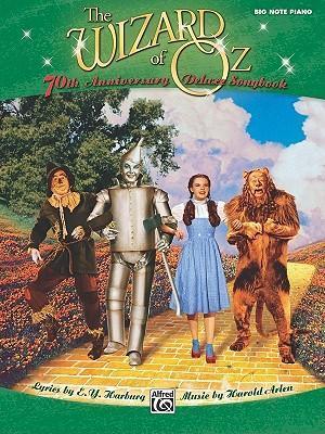 The Wizard of Oz Big Note Piano Deluxe Songbook