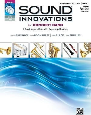 Sound Innovations for Concert Band: Combined Percussion, Book 1
