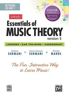 Alfred's Essentials of Music Theory Software, Version 3 Network Version, Vol 1