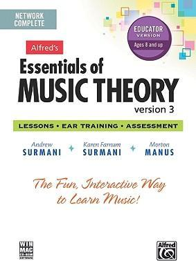 Alfred's Essentials of Music Theory Software, Version 3 Network Version, Complete Volume