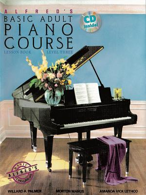 Alfred's Basic Adult Piano Course Lesson Book, Level 3