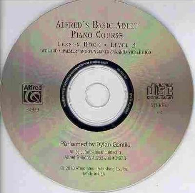 Alfred's Basic Adult Piano Course CD for Lesson Book