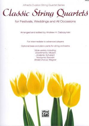 Classic String Quartets for Festivals, Weddings, and All Occasions, Viola