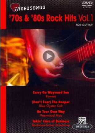 iVideosongs: 70's & 80's Rock Hits for Guitar, Volume 1