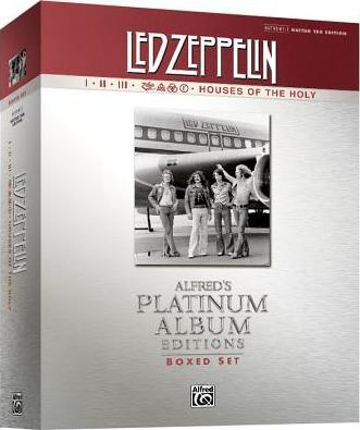 Led Zeppelin Authentic Guitar Tab Edition Boxed Set