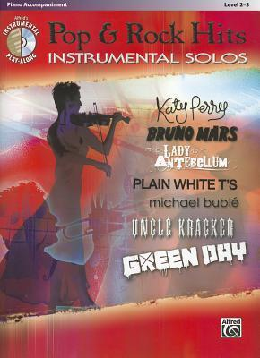 Pop & Rock Hits Instrumental Solos, Piano Accompaniment