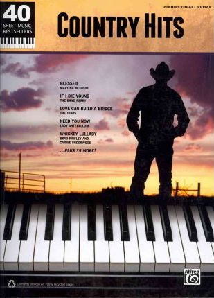 Country Hits  Piano/Vocal/Guitar