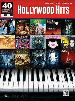 40 Sheet Music Bestsellers -- Hollywood Hits