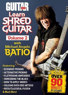 Learn Shred Guitar, Volume 2