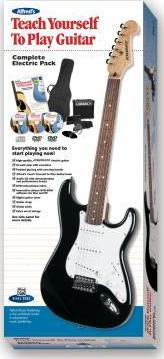Alfred's Teach Yourself to Play Guitar Complete Electric Pack