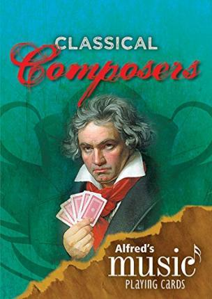 Alfred's Music Playing Cards: Classical Composers