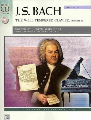 Bach -- The Well-Tempered Clavier, Vol 2
