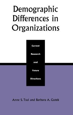 Demographic Differences in Organizations