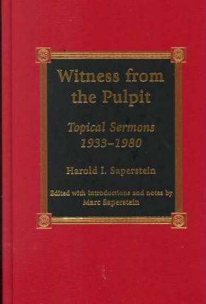 Witness from the Pulpit