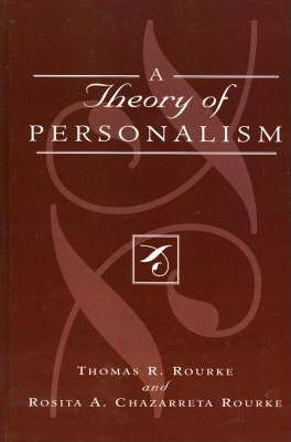 A Theory of Personalism
