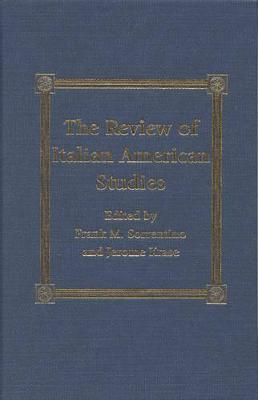 The Review of Italian American Studies