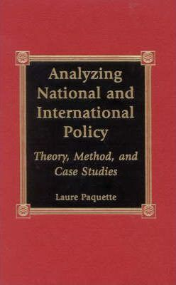 Analyzing National and International Policy