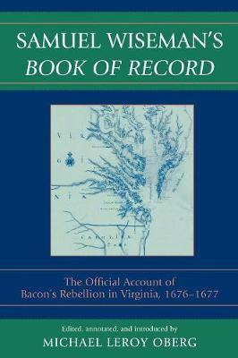 Samuel Wiseman's Book of Record
