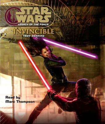 Star Wars Legacy of the Force 9 Invincible Audio
