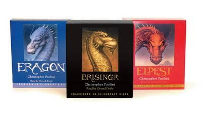 Christopher Paolini: Eragon/Eldest/Brisingr CD Ppk