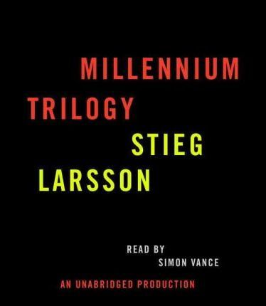 Stieg Larsson Millennium Trilogy Audiobook CD Bundle