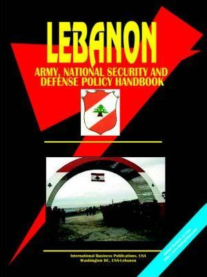Lebanon Army, National Security and Defense Policy Handbook