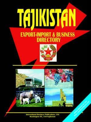 Tajikistan Export-Import and Business Directory