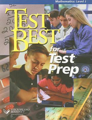Test Best for Test Prep in Math, Level J