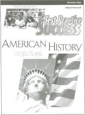 American History Test Practice Success Answer Key