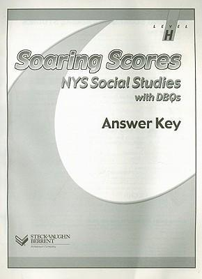 Soaring Scores NYS Social Studies Answer Key, Level H