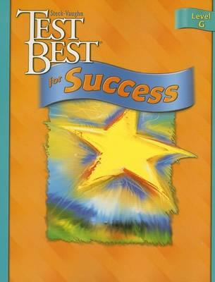 Test Best for Success, Level G