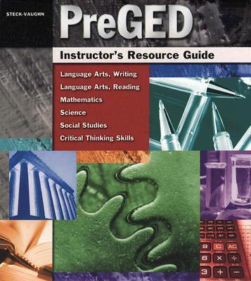 PreGED Instructor's Resource Guide