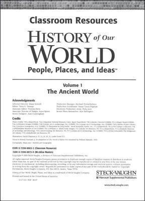Steck-Vaughn World History & You