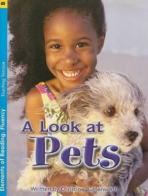 Fluency Grade 2 Little Book Pets Book 3 Teaching Version