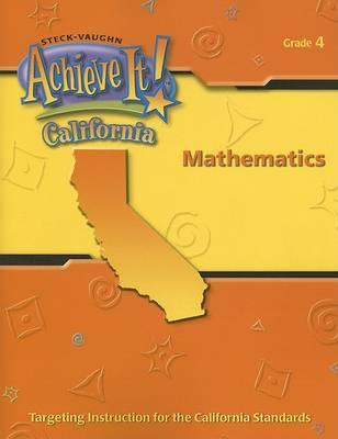 Achieve It! California Mathematics, Grade 4