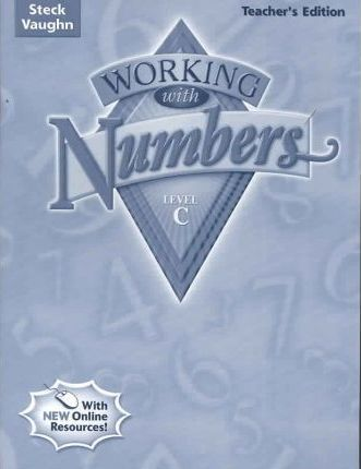 Steck-Vaughn Working with Numbers