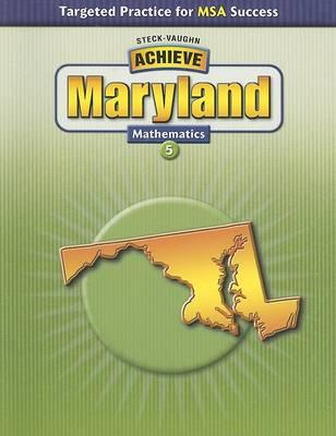 Achieve Maryland: Matematics 5