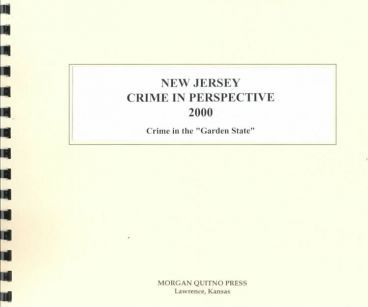 New Jersey Crime in Perspective 2000