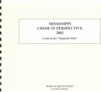 Mississippi Crime in Perspective