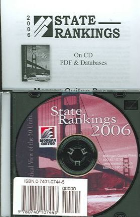 State Rankings CD-ROM W/ Databases