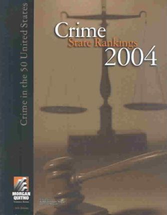 Crime State Rankings with Data CD