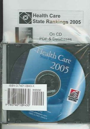 Health Care State Rankings CD W/ Databases