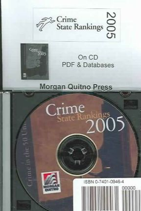Crime State Rankings CD W/ Databases