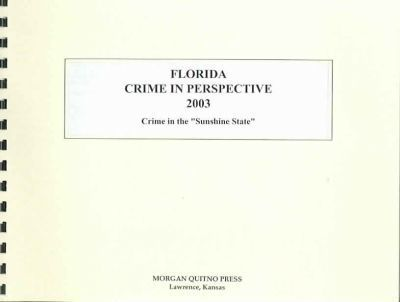 Florida Crime in Perspective 2003