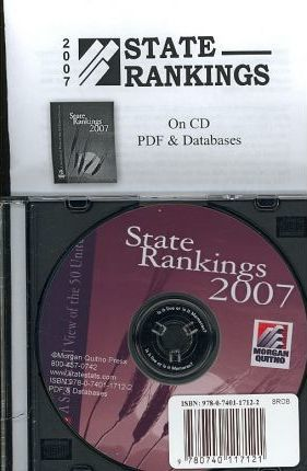 State Rankings (CD W/ Databases: dBASE, ASCII, & Excel)