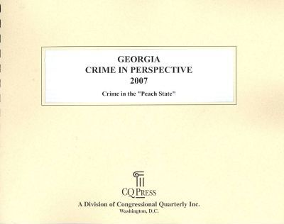 Georgia Crime in Perspective 2007