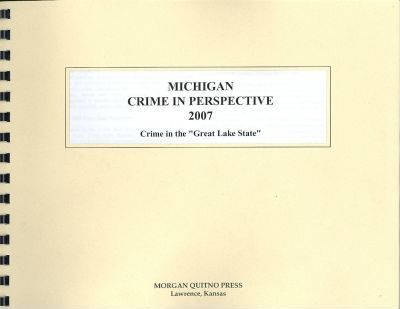 Michigan Crime in Perspective 2007